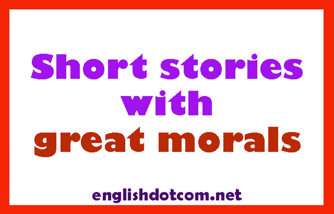 short stories with morals