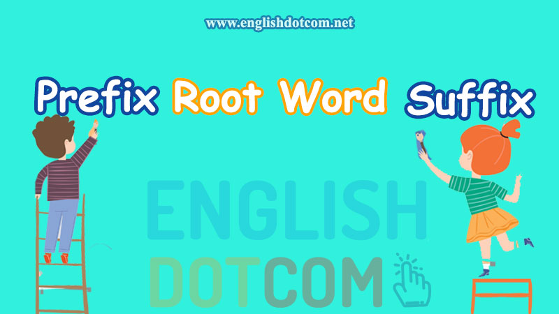 Word Formation: Prefixes and Suffixes 3 important lists