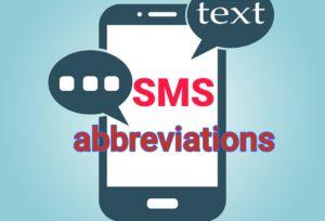 sms language