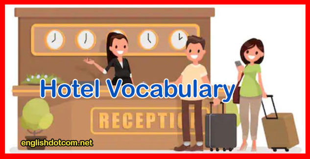hotel vocabulary