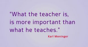 Best quotes about good teachers