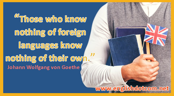 language learning quote