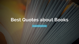 quotes about books